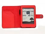 Pouzdro Fortress pro Amazon Kindle Paperwhite červené, umělá kůže